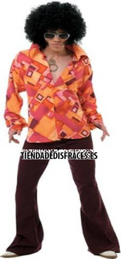Disfraz de Chico años 70