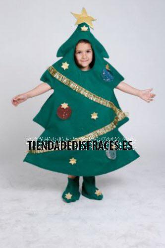 Disfraz de Árbol de Navidad infantil 3-5 años, talla 1