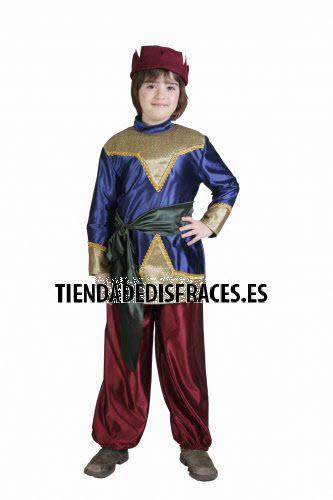 Disfraz de Paje infantil 1-3 años, talla 0