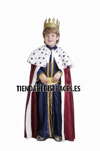 Disfraz de Rey Mago Melchor infantil 3-5 años, talla 1