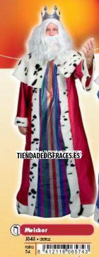 Disfraz de Rey Melchor adulto