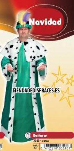 Disfraz de Rey Baltasar adulto