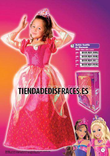 Disfraz de Barbie Castillo de Diamante especial