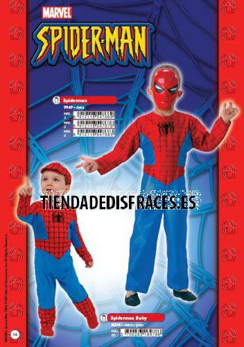 Disfraz de Spiderman