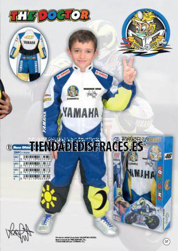 Disfraz de Mono oficial Valentino Rossi