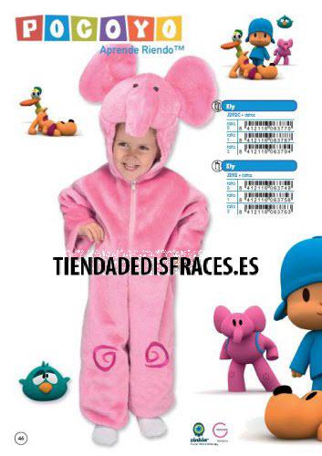 Disfraz de Elefante Ely con bolsa T.0 (1-3 años)