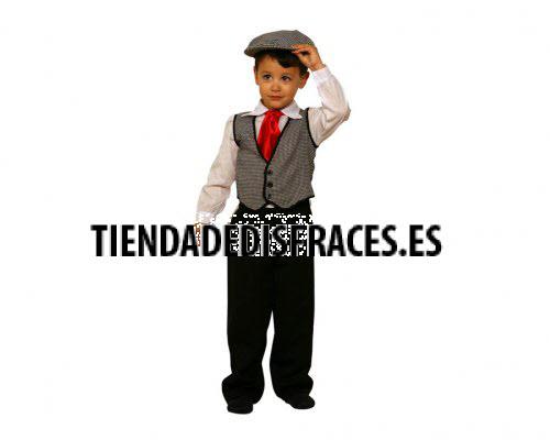 Disfraz de Madrileño o Chulapo 3-4 años