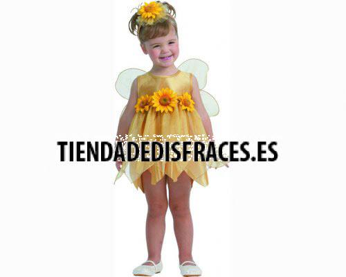 Disfraz de Hada de las Flores Amarillo 2-4 años