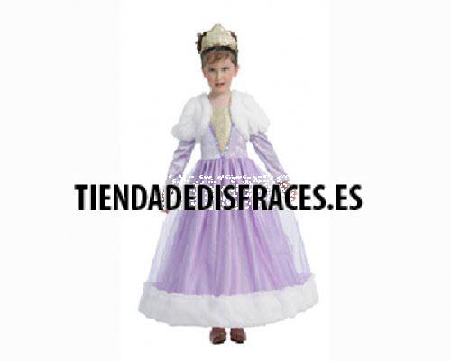 Disfraz de Princesa Púrpura 2-4 años