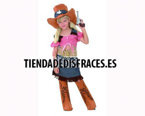 Disfraz de Cowgirls Niña 7-9 años