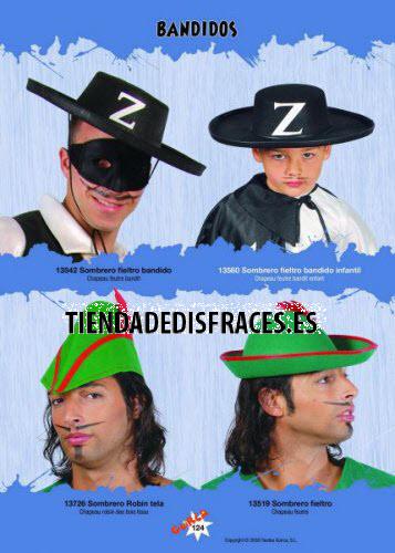 Sombrero tirolés fieltro