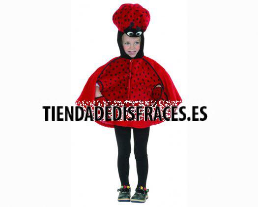 Disfraz de Mariquita 2-4 Años