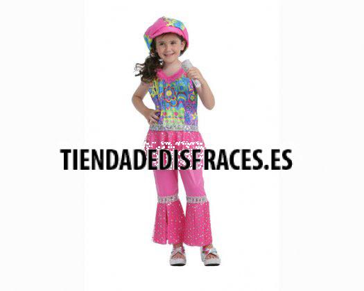Disfraz de Gogó Rosa 4-6 Años