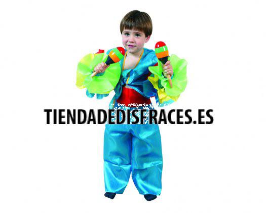 Disfraz de Rumbero azul 3-4 años