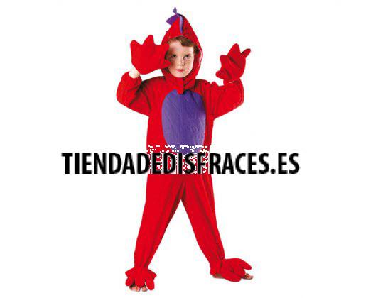 Disfraz de dragon rojo Talla 1 (3 – 4 años)