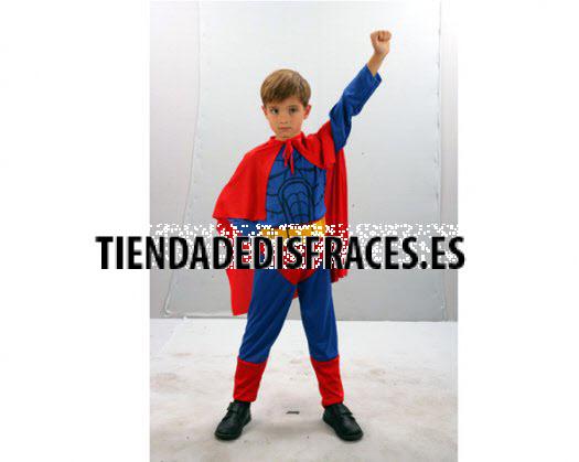 Disfraz de Super Heroe Niño 4-6 Años