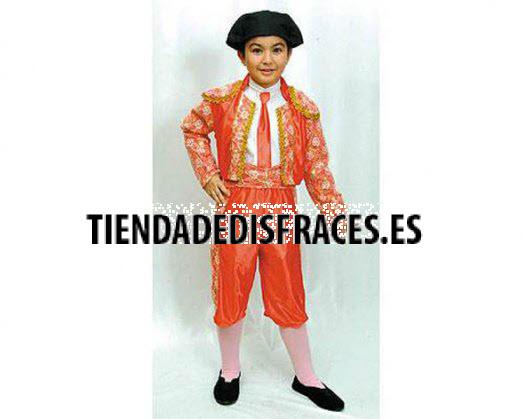 Disfraz de Torero Niño 7-9 Años económico