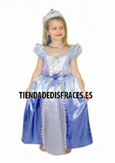 Disfraz de Cenicienta T-5/6 Años