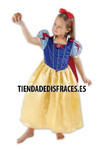Disfraz de Blancanieves T-5/6 Años