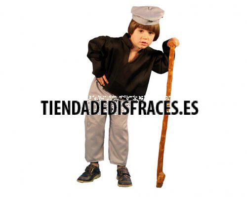 Disfraz de Viejo niño 4-6 años económico