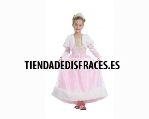 Disfraz de Princesa Rosa 3-4 años económico