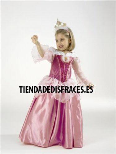 Disfraz de Bella Durmiente T-5/6 Años