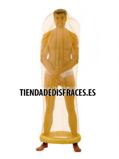 Disfraz de Preservativo deluxe