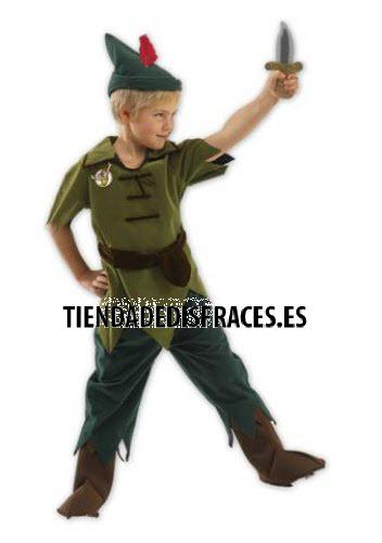 Disfraz de Peter Pan  T-7/8 Años