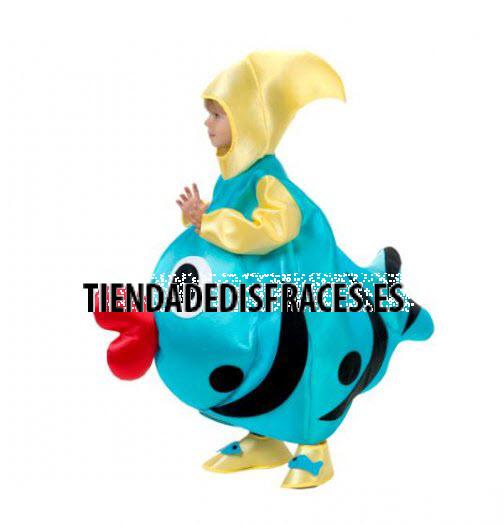 Disfraz de Pez infantil Talla 1 a 3 años