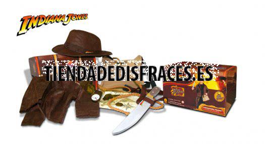 Cofre Aventura Indiana Jones C/Acc. talla 4-6 años