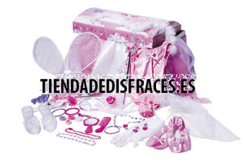 Cofre Princesas Con 40 Accesorios