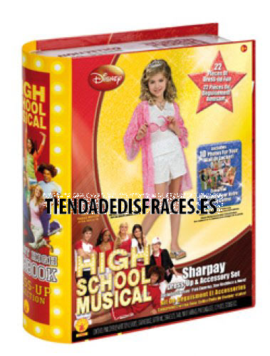 Sharpay Yearbook (HSM) (22 Acc) T-5-7 años