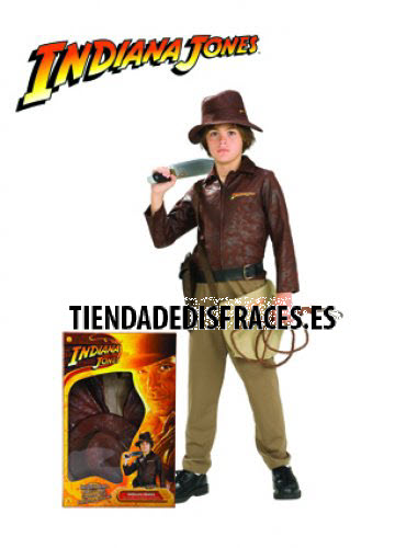Disfraz de Indiana Jones En Caja T-3-4 Años