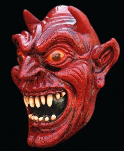 Máscara de Satán, diablo o demonio.