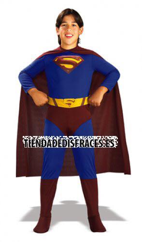 Disfraz Superman En Caja T-8-10 Años