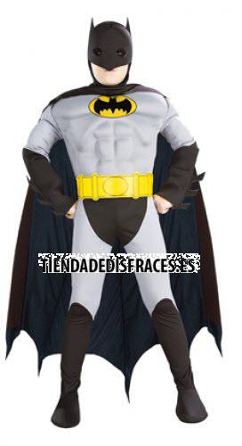 Disfraz de Batman Musculoso En Caja T-5-7 Años