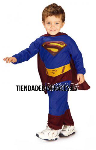 Superman Preescolar T-6-12 Meses