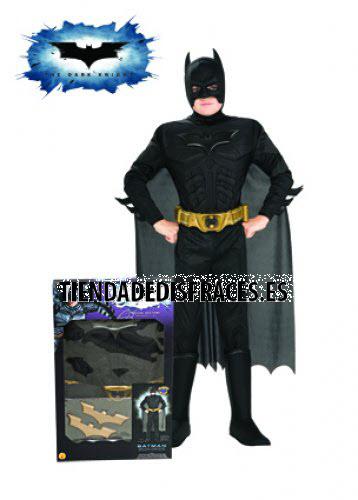 Disfraz de Batman Musculoso TDK C/Acc. En Caja T-8-10 Años