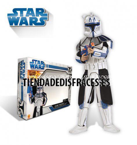 Clone Trooper Rex C/Armadura  DLX T-5-7 Años