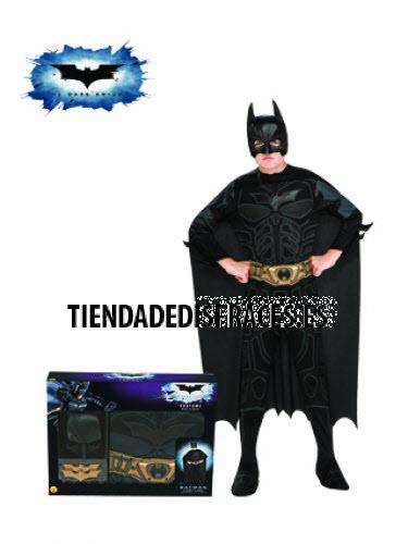 Disfraz de Batman TDK C/Acc. En Caja T-8-10 Años