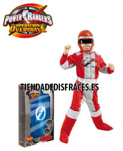 Power Ranger Musculoso Caja Lujo T-8-10 Años
