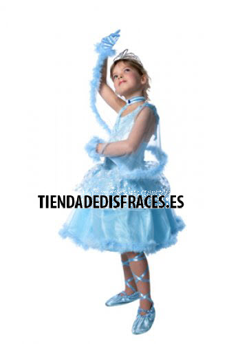 MiTuttu Princess Blue T-8-10 Años