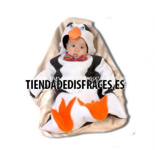 Disfraz de Pingüino 0-6 meses.