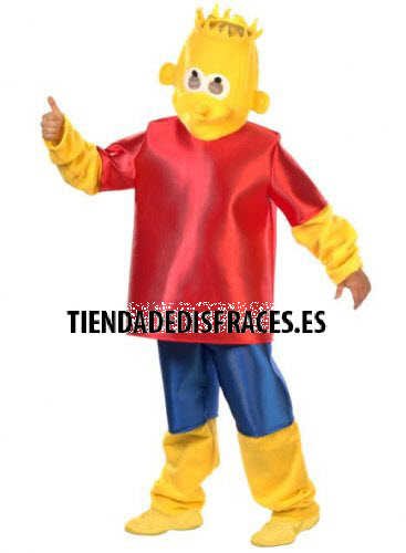Disfraz de Bart adulto