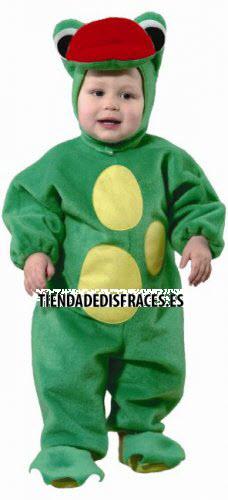 Disfraz de Rana en tela fieltro infantil 1 a 3 años, talla 0