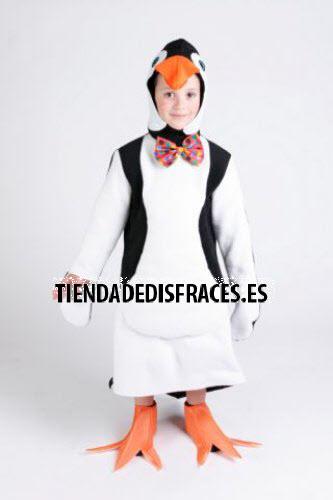 Disfraz de Pingüino infantil 1 a 3 años, talla 0