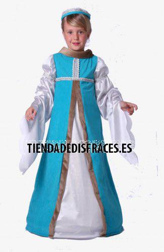 Disfraz de Jimena infantil talla 3 a 5 años talla 1