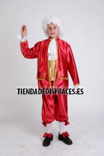 Disfraz de Época infantil para niño talla 3 a 5 años, talla 1