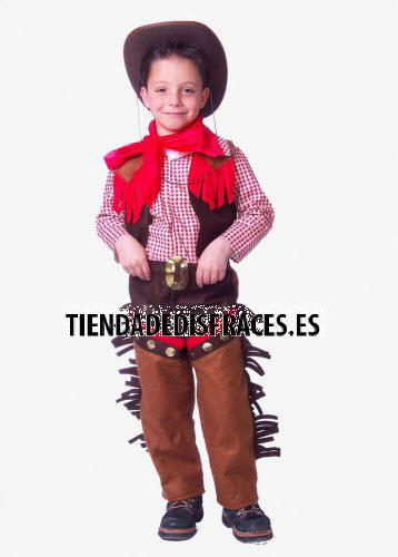 Disfraz de Vaquero infantil talla 0 a 3 años, talla 0