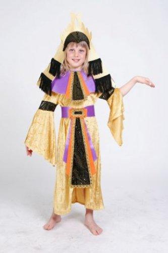 Disfraz de Egipcia infantil talla 3 a 5 años, talla 1